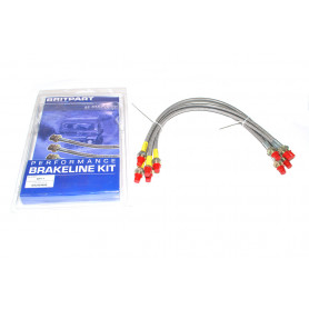 Stainless brake hose kit + 40