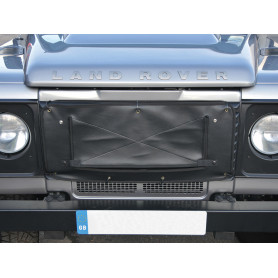Radiator muff black defender