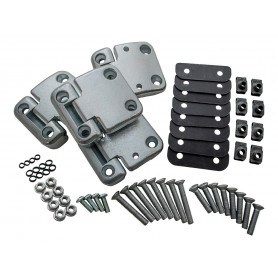 Front door hinge kit