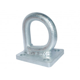 Front towing eye galvanized