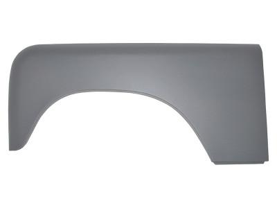 Joue d aile en aluminium cote conducteur