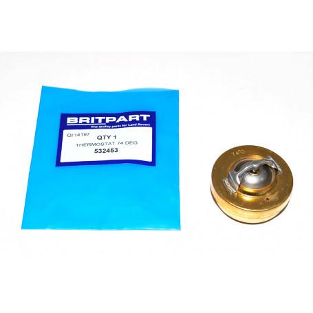 Thermostat 74ºc 2l.1/4 essence ou diesel / 2.5 atmo
