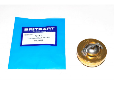 Thermostat 74ºc 2l.1/4 essence ou diesel / 2.5 atmo