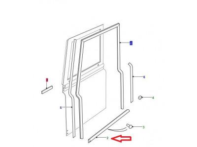 Joint de seuil de porte avant gauche ou droite