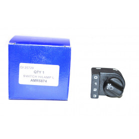 Switch rotary headlamp lamp leveling
