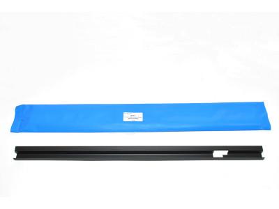 Joint de vitre vertical de porte arriere superieur cote gauche