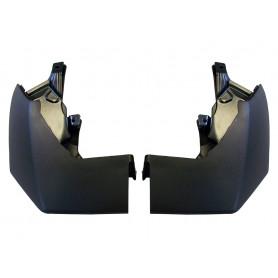 Kit m/flap rr (for unpainted bumper)
