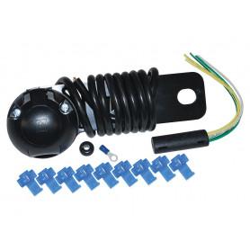 Prise femelle universelle type 12n avec cable electrique de 2 metres