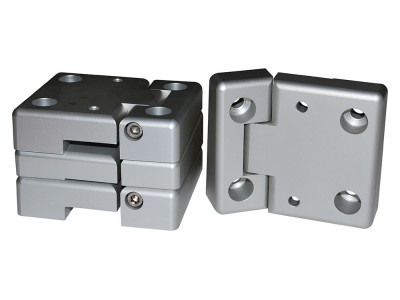 Kit charniere porte avant aluminium