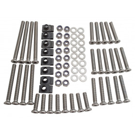 Front & rear door bolt kit s/s