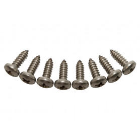 Front grille screw kit s/s