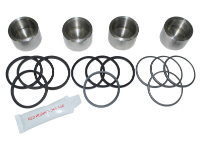Brake caliper piston kit rear