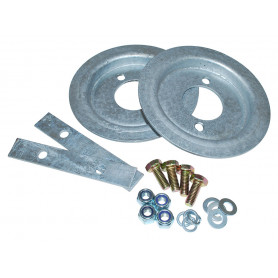 Galv rear spring set fitting kit