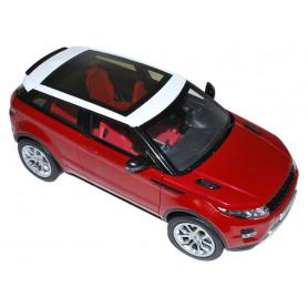 Diecast range rover evoque red