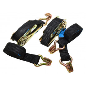 Ratchet straps pair