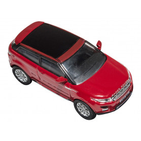 Miniature range rover evoque rouge firenze