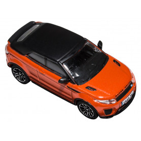 Miniature range rover evoque orange phoenix