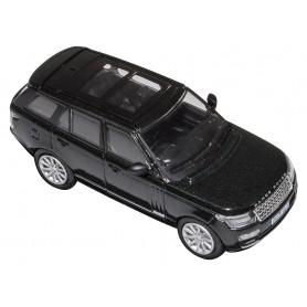 Die-cast 1:76 scale model land rover l405 santorini black