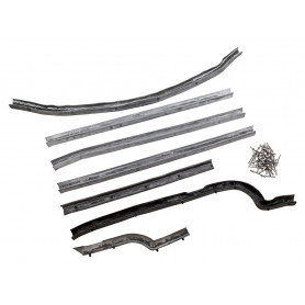 series 2nd row door seal kit rh