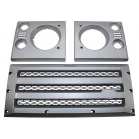 xs front grill and lamp cover set