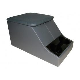 Cubby box defender vinyl gray
