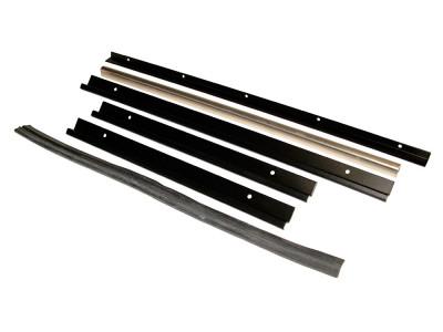 Kit reparation de glissiere de vitre avant
