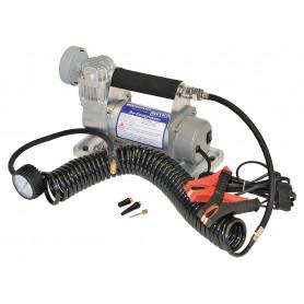 H/duty portable air compressor