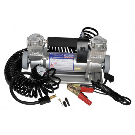 Double pump hd portable air compressor