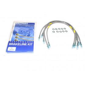 Stainless brake hose kit