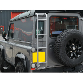 Defender ladder - rear