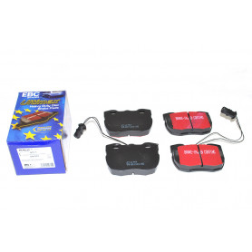 Ebc ultimax brake pads - disco 1 - front - with vented discs