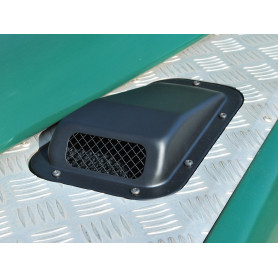 Air intake with grille lh