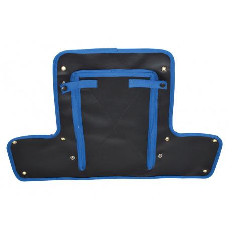Protection de calandre serie 2 et 2a noire et bleu