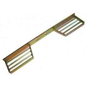 Protection arriere en acier galvanisee