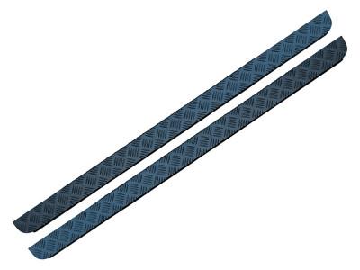 Paire de protection aluminium bas de caisse Defender 90