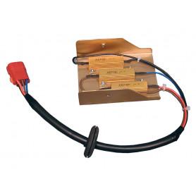 Heater motor resistor