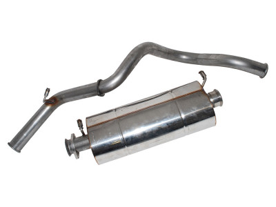 Exhaust stainless double 's' defender 90 300 tdi from 1997