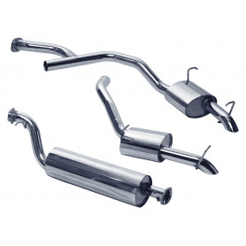 Exhaust stainless double 's' range rover p38 diesel from 1997 to 2002