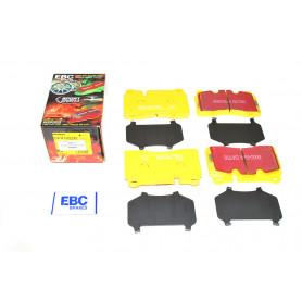 Plaquettes avant ebc yellow jeu de 4 range rover l322 3.6 tdv8