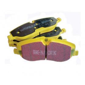 Plaquettes ebc yellow avant jeu de 4 range rover l322 td6 3.0 bmw diesel