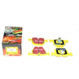 Plaquettes arriere ebc yellow jeu de 4 range rover l322 v8 4.4 bmw essence