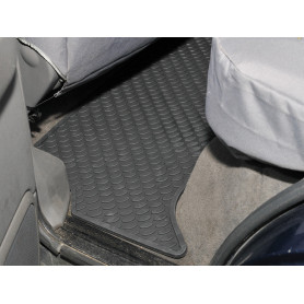 Rubber mat set rear disco td5 1998+