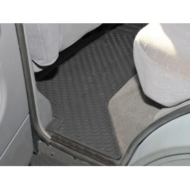 Rubber mat set rear disco tdi 1989-98
