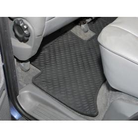 Rubber mat set rear r/rover 1994-2003
