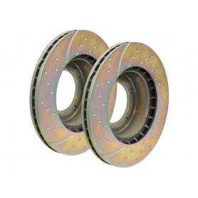 Brake disc frt vented (pair)