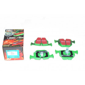 Rear brake pad set high performance