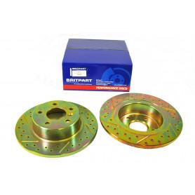 Rear brake disc (pair)