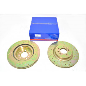 Performance brake disc front vented