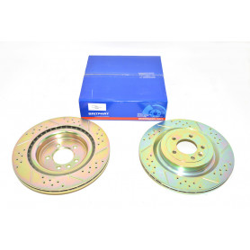 Preformance brake discs rear vanted