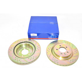 Preformance brake discs rear vented
